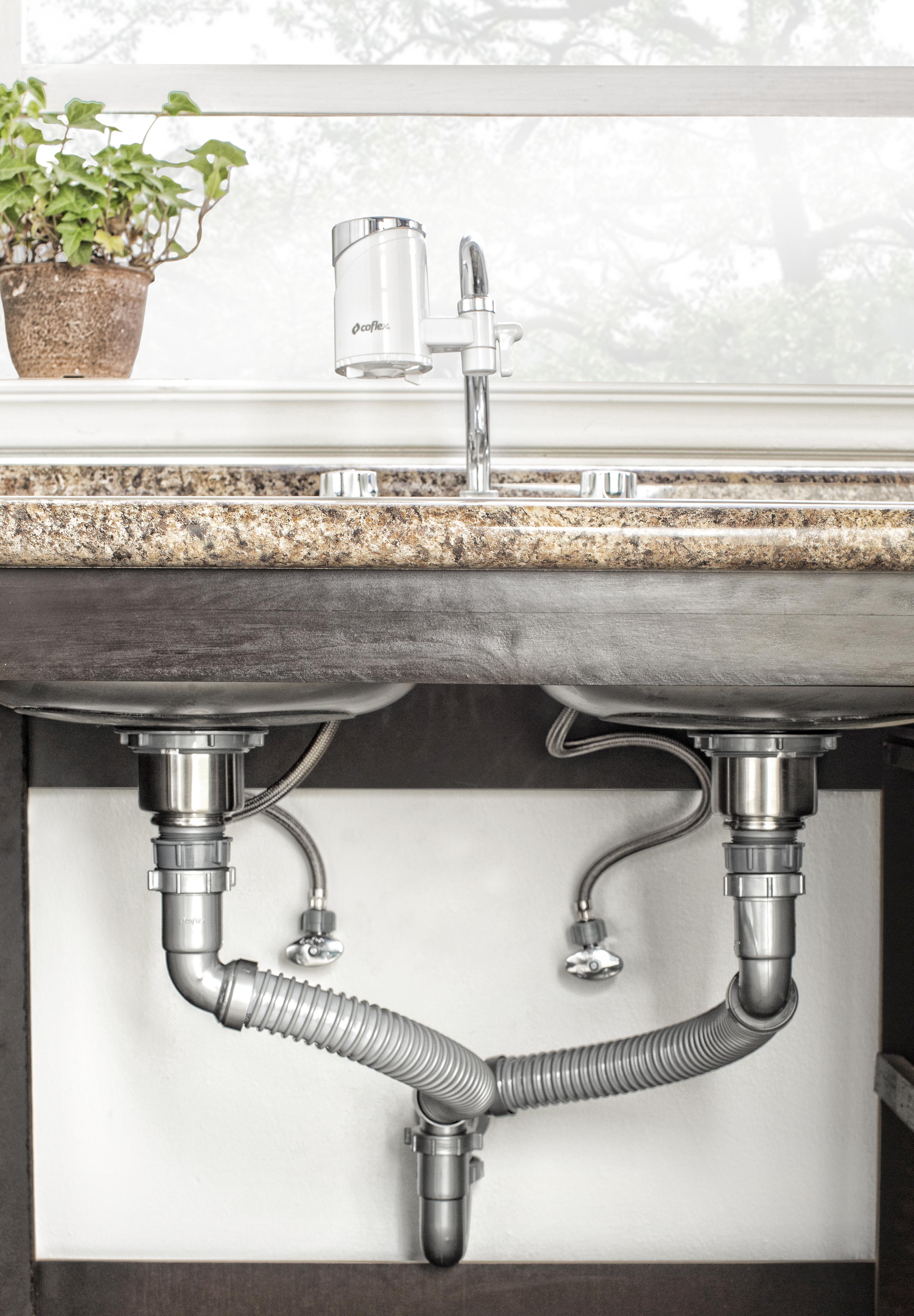 Instala tu fregadero en 6 pasos coflex m xico for Base para lavadero