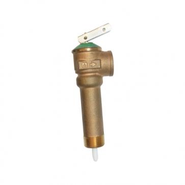 Valvula de alivio para boiler
